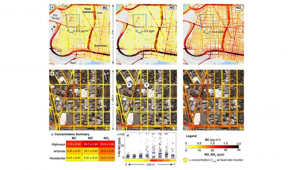 Street Level Maps Hyper local air pollution maps show air quality at street level