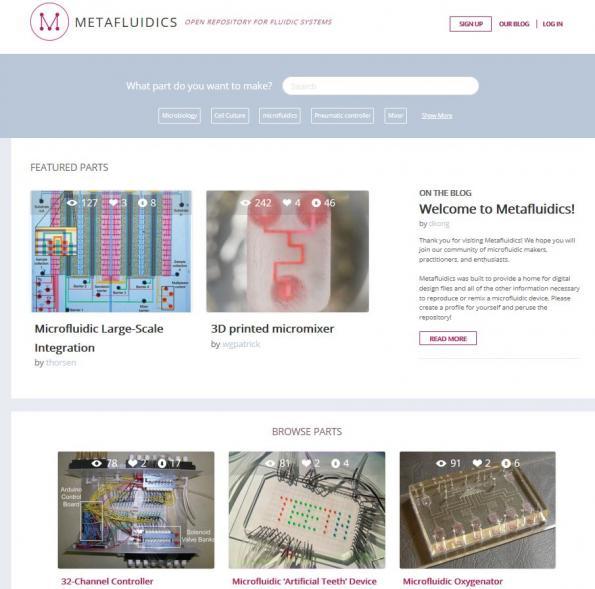 Open-source microfluidic design: MIT opens online repository