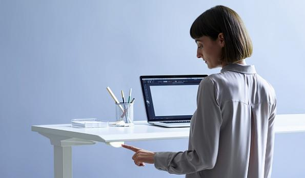 Smart 'human centered' office furniture tracks workplace activity