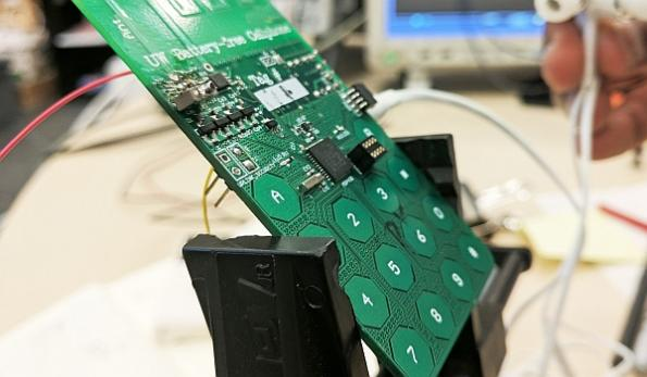 Battery-free cell phone prototype unveiled