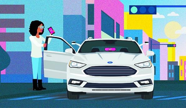 Ford, Lyft partner to bring self-driving cars to the masses