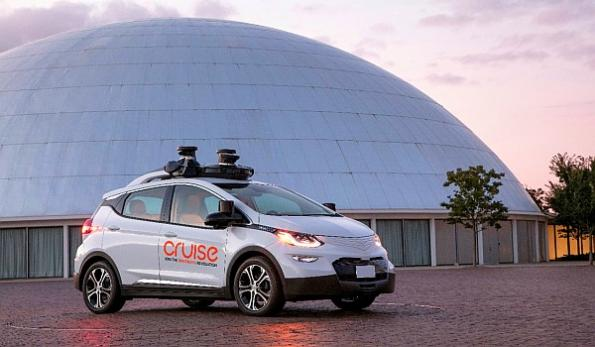 GM buys LiDAR startup in self-driving car push