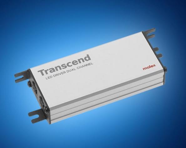Molex\u0027 Transcend smart LED drivers now in distribution at Mouser