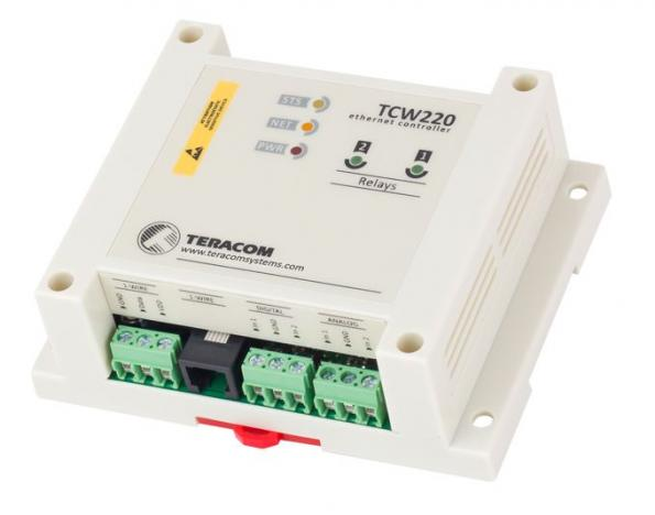 Ethernet data logger has 1-wire interface for up to eight sensors