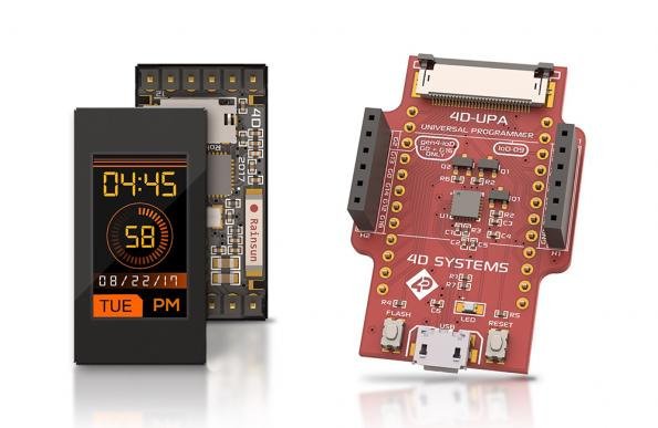 Wi-Fi enabled displays for IoT applications