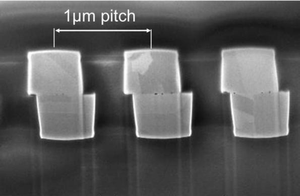 Leti pushes 300mm wafer-to-wafer hybrid bonding to 1µm-pitch for 3D ICs