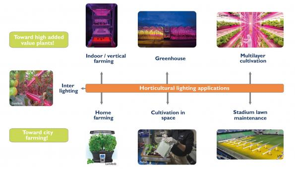 Indoor/vertical farms set to boom, LEDs leading the transition, says Yole