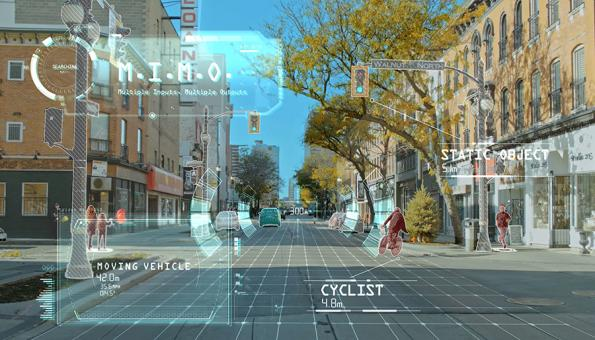 Automotive radar scans 100x more objects in 4D with 300m range