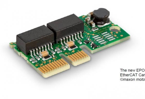 Plug-in board expands motion controller with EtherCAT