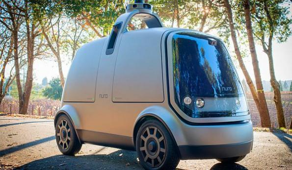 ex-Google engineers unveil self-driving delivery vehicle