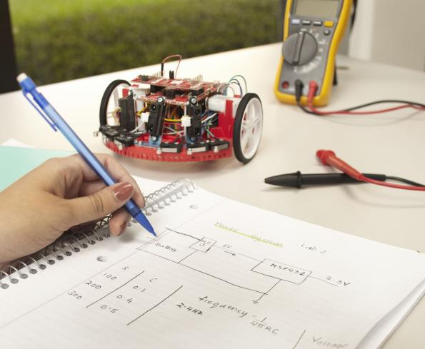 TI lures universities with robotics system learning kit