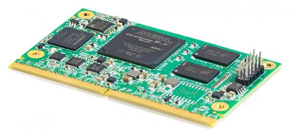 SMARC module for industrial Ethernet