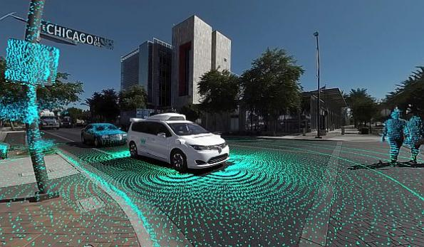 Waymo 360° video gives viewers 'self-driving experience'