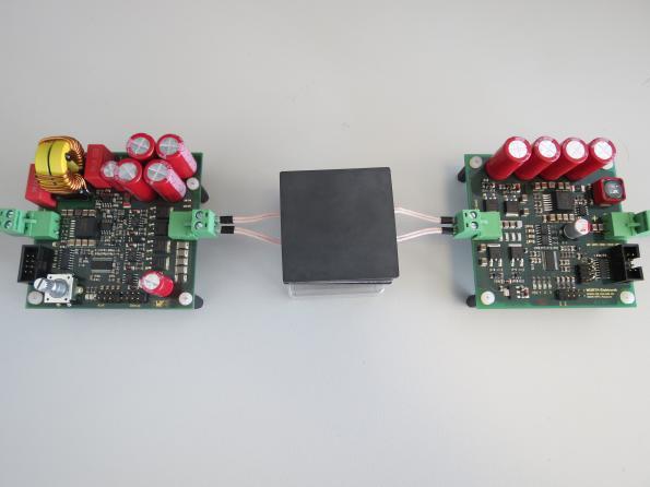 200W development kit for wireless power transfer