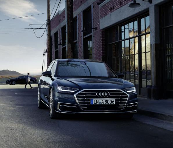 Osram's LEDs now in the Audi A8 headlights