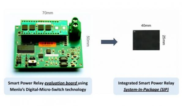 Smart power relay offers 'new class' of industrial control products