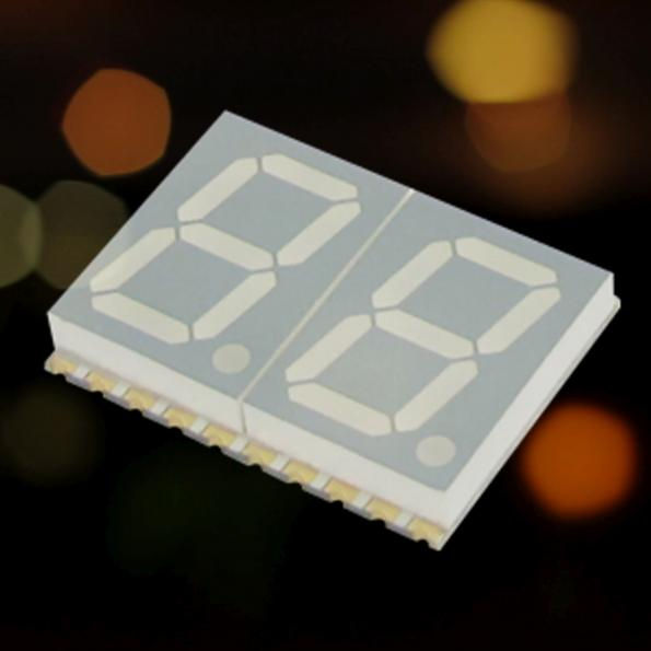 Rugged 7-segment single digit SMD LED displays now at JPR Electronics