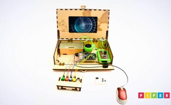 Piper computer kit teaches electronics and coding through Minecraft adventures