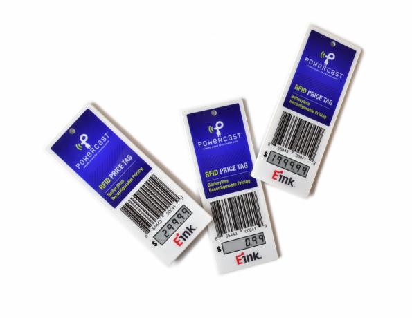 UHF retail price tag goes batteryless