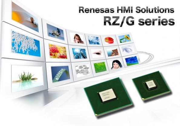 RZ/G1C microprocessor enables HMI applications