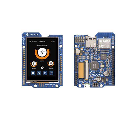 2.4 inch Arduino display module has WiFi