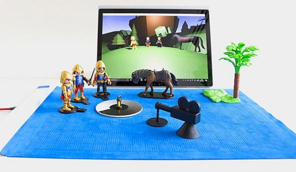 Microsoft smart mat blurs digital, physical worlds