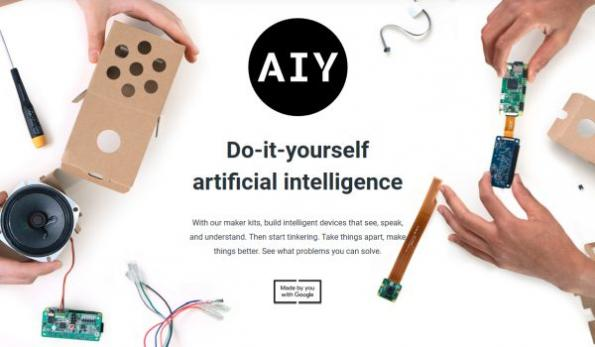 New Google DIY AI kits make getting started easier