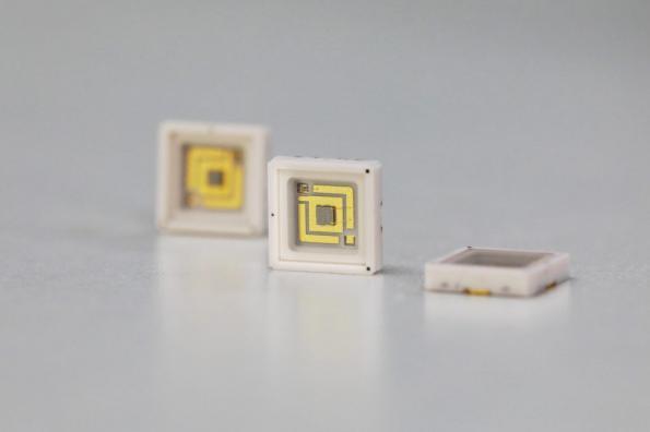 100 milliwatt UV-C LEDs for sterilization