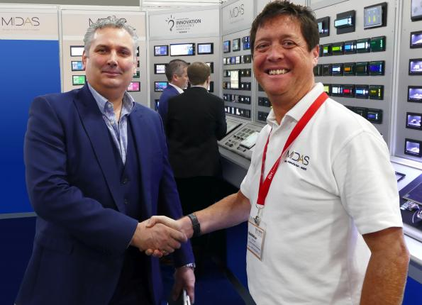 Midas Displays signs Easby Electronics as a franchised distributor