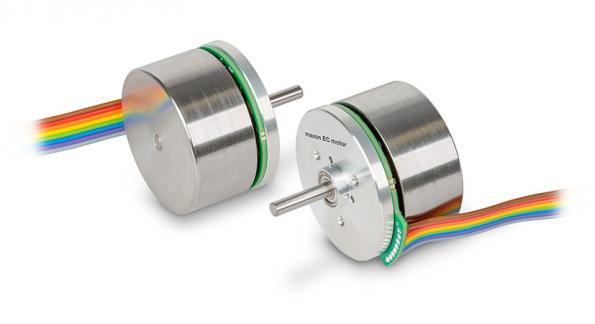 Brushless flat motor delivers 1Nm continuous torque