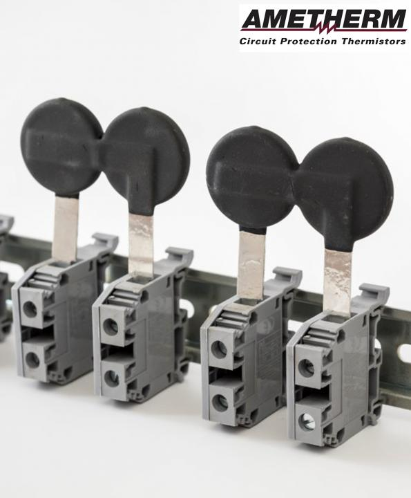 Inrush current limiting NTC thermistors withstand up to 80A