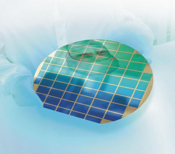 "Wafer-level testing of CMOS image sensors up to 12"" across"