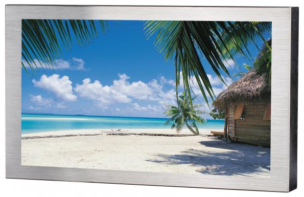 Waterproof LCD monitor is sunlight readable