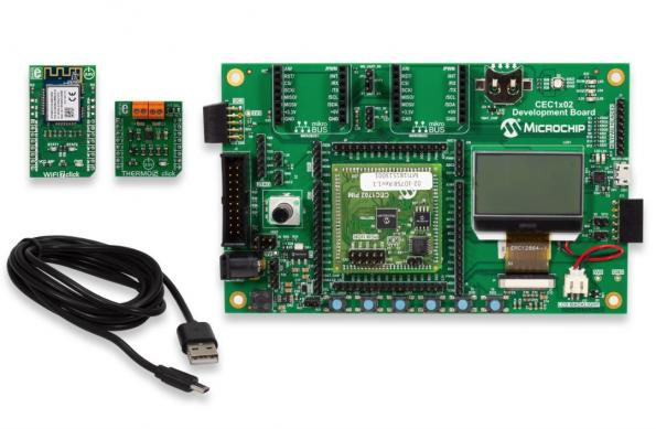 Cryptography-enabled MCU secures connected nodes