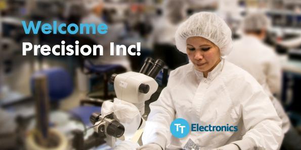 TT Electronics to acquire Precision Inc.