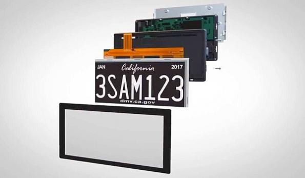 Digital license plates debut in California