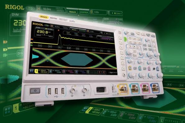 """Scopes with 4 analog and 16 digital channels boast a 10.1"""" touch-colour display"""