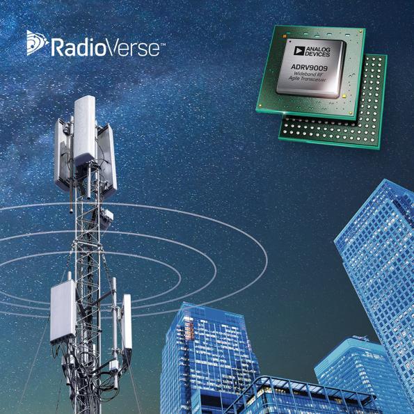 Wide bandwidth RF transceiver speeds development of 2G-5G base stations