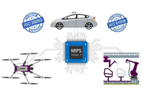 64-bit multi-cluster CPU IP is ISO 26262 & IEC 61508 compliant
