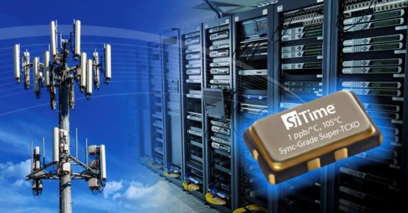 SiTime demonstrates MEMS-based timing and synchronisation for 5G