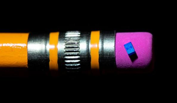 Researchers test small 'spin qubit' chip for quantum computing