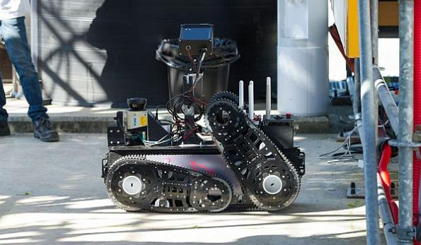Oil giant developing robots for autonomous site inspection