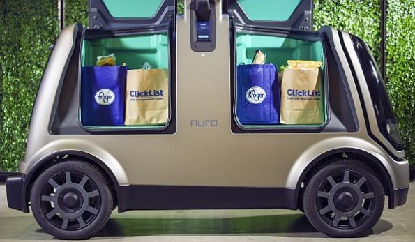 Kroger, robotics startup partner on unmanned grocery delivery