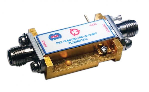 Low noise amplifier covers 6.0 to 18.0 GHz