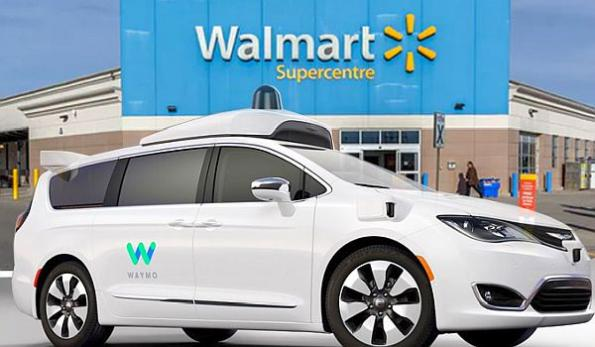 Waymo to offer Walmart shoppers robo-taxi transport