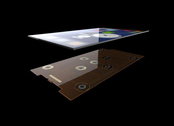 Distributed force array sensor brings extra functionality to mobiles