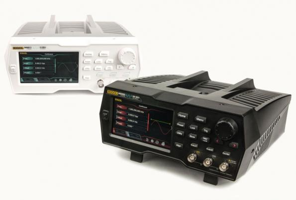 Arbitrary function generators offer 16-bit resolution, come with a touch display