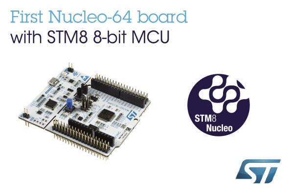 Nucleo boards takes ST's 8-bit MCUs to open-source IoT projects