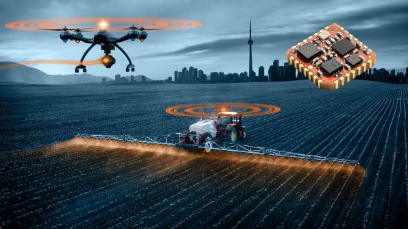 12x12mm IMU modules target smart farming equipment