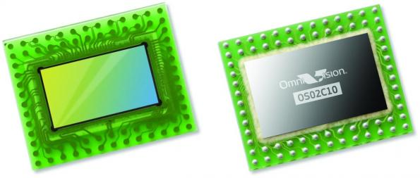 2M-pixel image sensor combines ultra low light and NIR performance